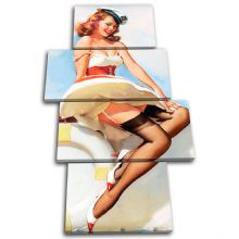 Vintage Girl Retro Pin-ups - 13-2062(00B)-MP04-PO